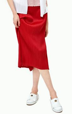 [오늘이 마지막날 10% 할인] Pleats~ Mid Straight Skirt